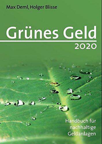 Grünes Geld 2020 – Handbuch für nachhaltige Geldanlagen